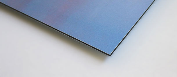 Aluminium-Platte